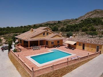 Amazing Villa in Sax, Alicante, rent to buy option