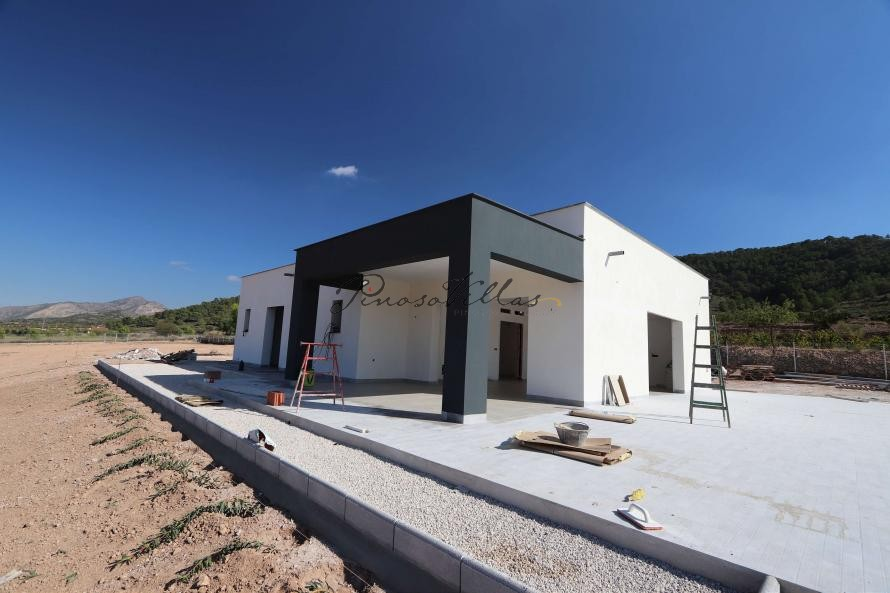 Modern new villa near Pinoso 3 bedroom villa with pool and garage  in Pinoso Villas