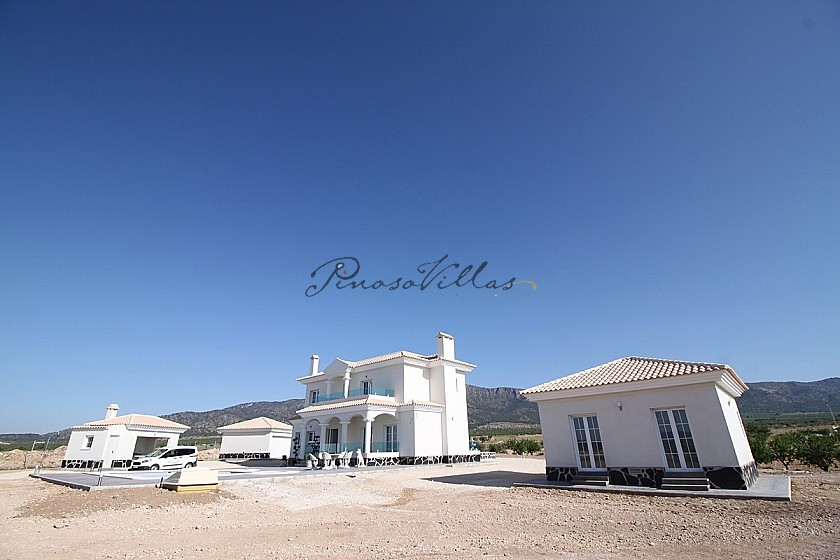 Luxury new build villa designed to your specification in Pinoso Villas