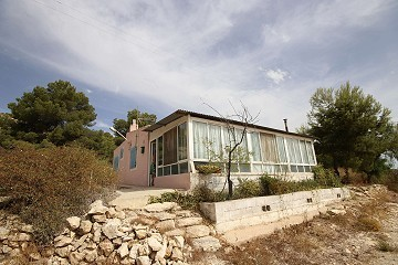 Detached Country House 3km from Monovar