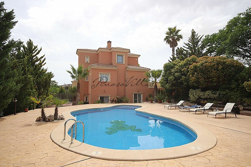 Detached Villa in town in Monovar in Pinoso Villas