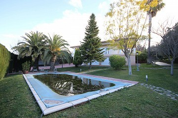 Large Detached Villa with a pool in Loma Bada, Alicante