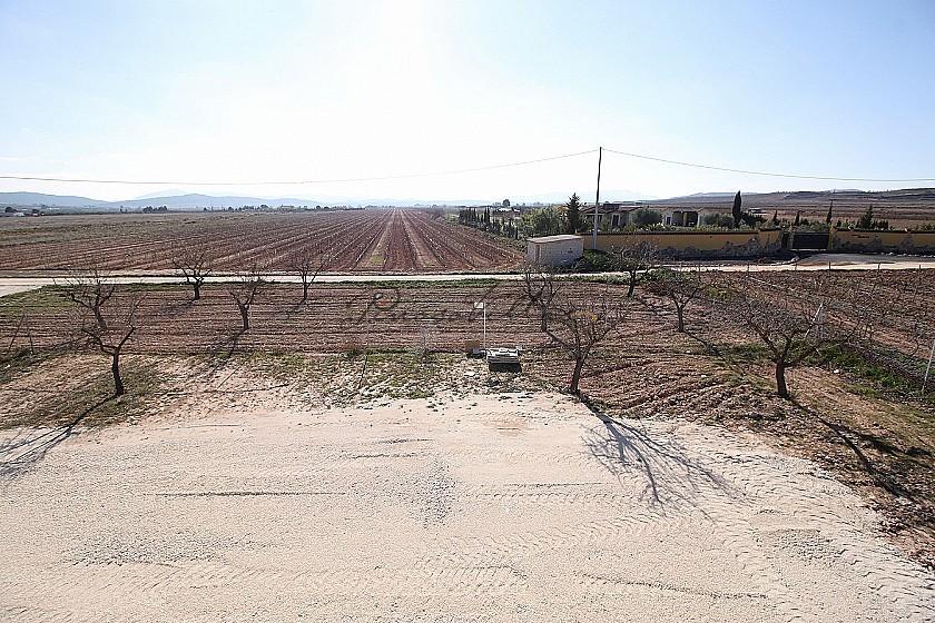 New build walk to Pinoso town in Pinoso Villas