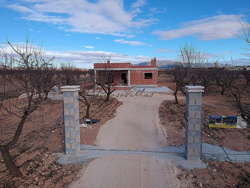 Brand New Detached Villa walking distance to Pinoso in Pinoso Villas
