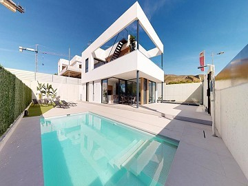 Incredible and modern Elity Villas near the beach and golf course with swimming pool