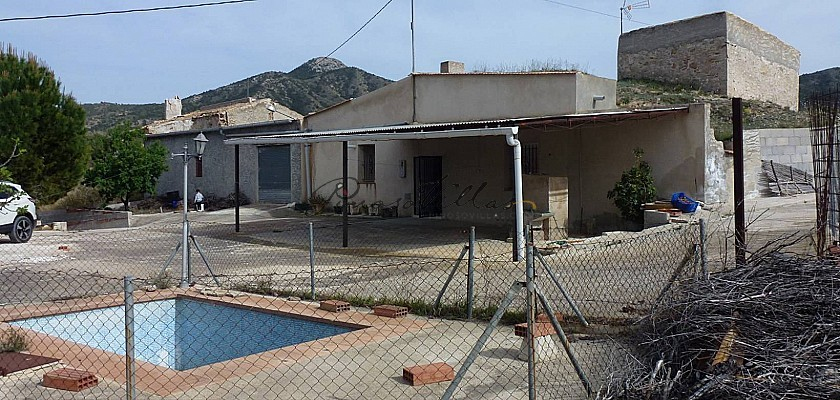 Cave House for sale in La Umbria, Abanilla, Murcia in Pinoso Villas
