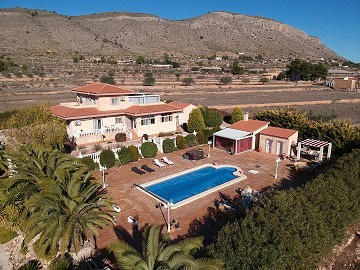 Fabulous 4 bedroom Villa with amazing gardens and salt water pool