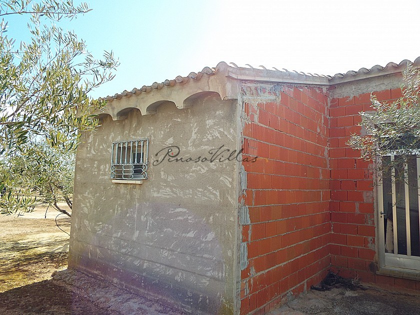 House in Caudete to complete build, Albacete in Pinoso Villas